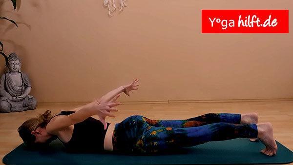 Yogahilft - bewegliche Schultern Übung Nr. 3